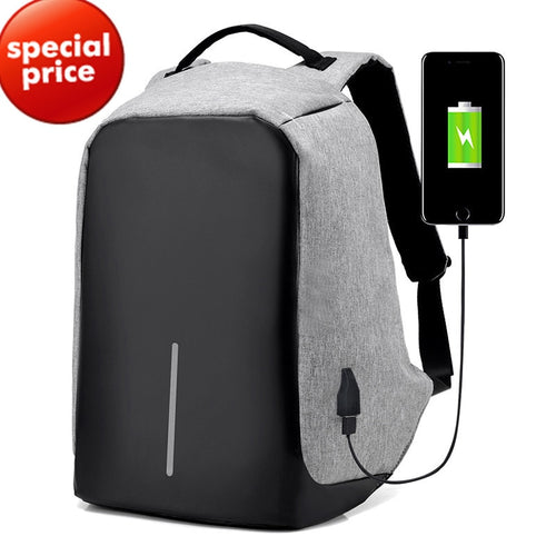 Usb Charging Laptop Backpack 15 inch