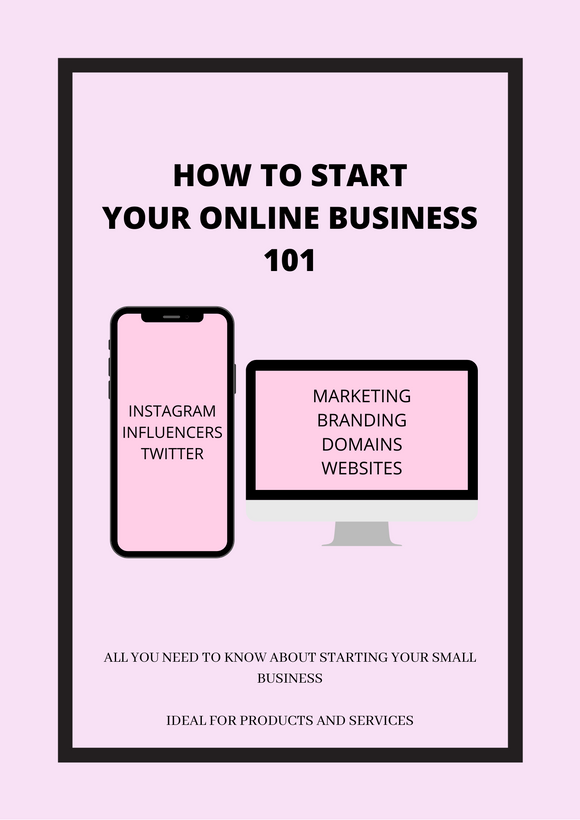 How To Start A Small Business (Ebooklet)
