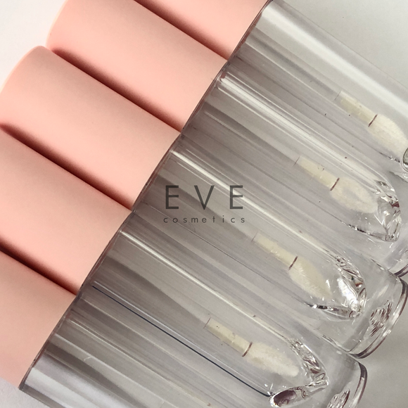 Tear Shape Wand Lip Gloss Tube (3.5ml) - Baby Pink