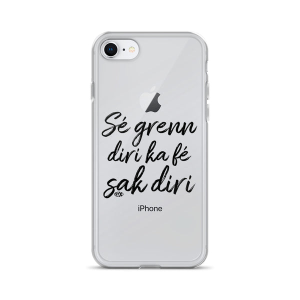 Coque iPhone Sé Grenn