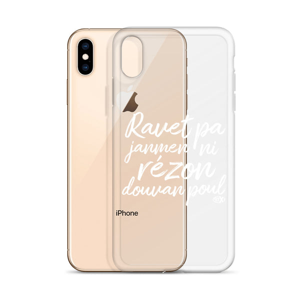 Coque iPhone Ravet
