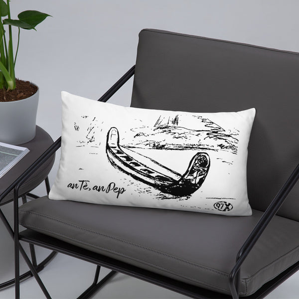 Coussin Pirogue