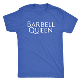 Exercise Barbell Queen T-shirt Unisex Vintage Royal Blue