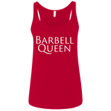 Exercise Barbell Queen tank top Women's Vintage Red