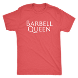 Exercise Barbell Queen T-shirt Unisex Vintage Red