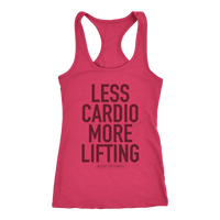 LESS CARDIO MORE LIFTING