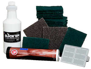 General Cleaning Kit, Small samples of our top cleaning supplies for our Presses, Ovens and Grills.