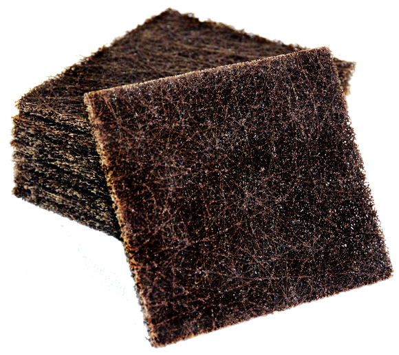 Brown Grill Pads, Used for heavier buildups on heating surfaces to prevent sticking.