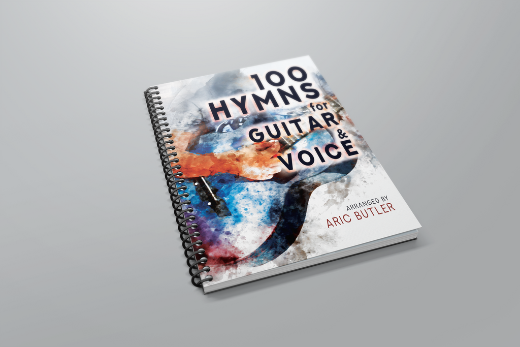 100 Hymns for Guitar & Voice by Aric Butler