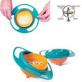 1 PC Spill-Proof Universal 360 Rotating bowl