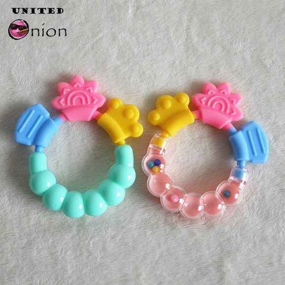 New born Baby rattles Teether