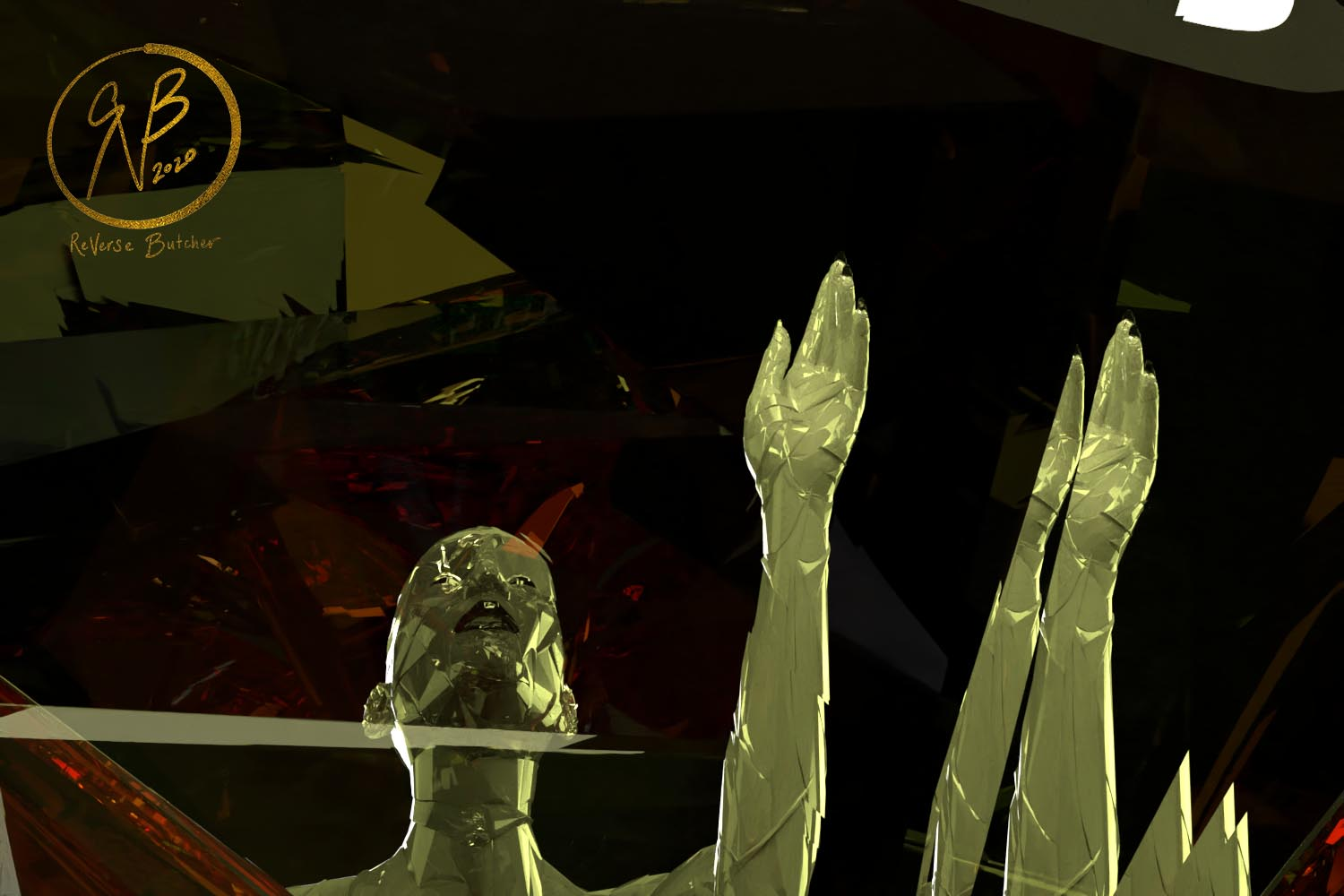 Electric Cathedral | Love/Quantum | VR Art rVb | Proof of Concept Image