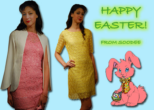Hop into Soodee this weekend for an Easter dress!