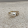 Star & Pearl Ring