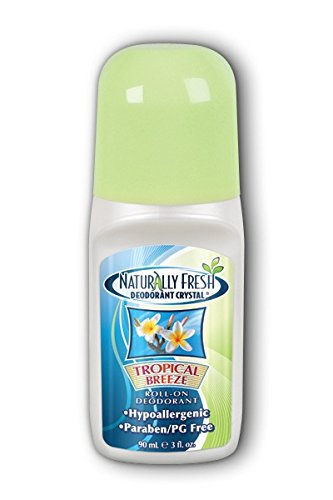 Naturally Fresh Roll-On Deodorant-Tropical Breeze-3 oz