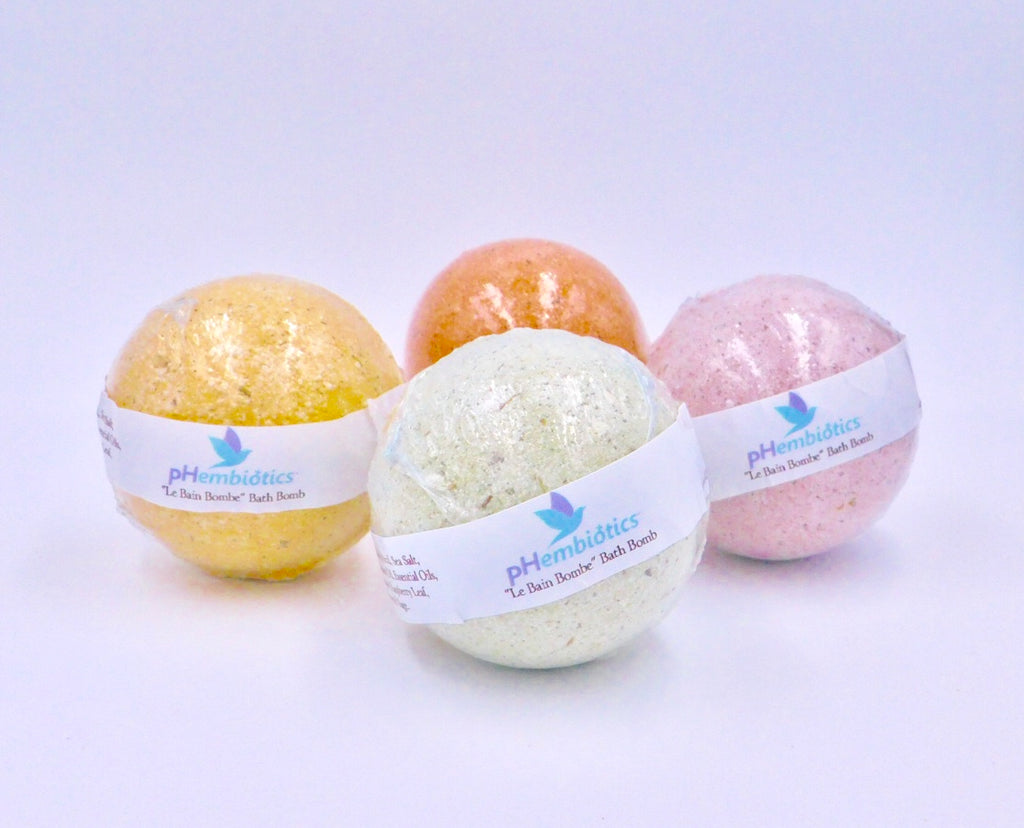 """Le Bain Bombe"" pH Balance Supporting Bath Bomb"