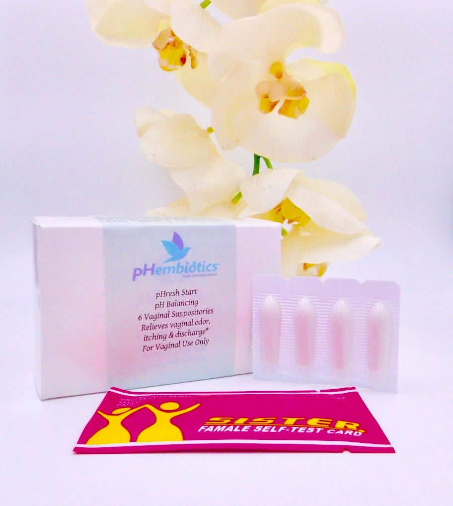 pHresh Start™ pH Balancing Vaginal Suppository Kit