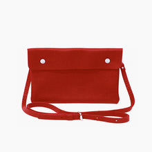 2 Snap Leather Belt Bag