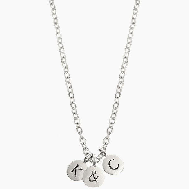 Initial + Initial Necklace