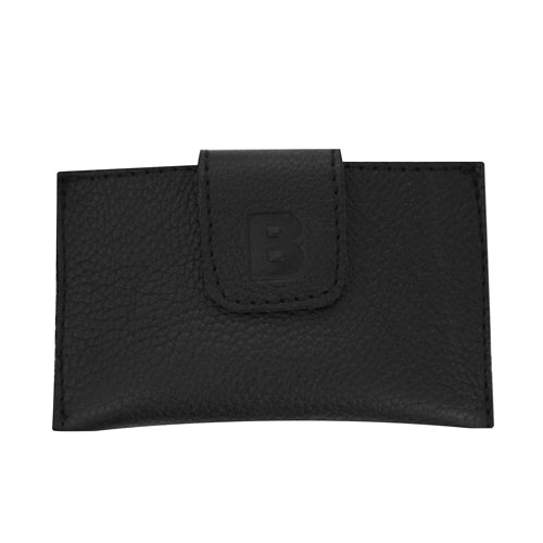 Foldover Initial Credit Card Wallet