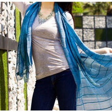 Linen and Silk Shawl