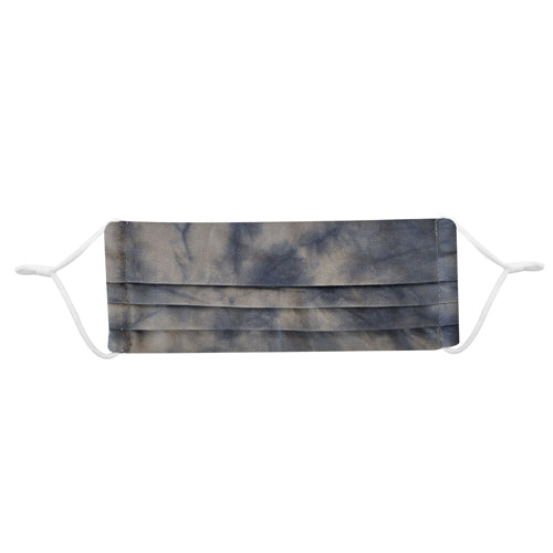 Blue Tie Dye Organic Cotton