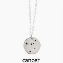 Cancer Zodiac Constellation Necklace