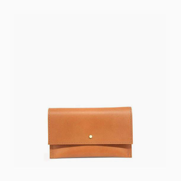 Cognac Accessory Cell Pouch