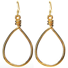 Open Knot Earrings