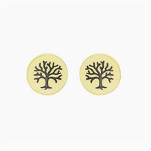 Tiny Tree of Life Earrings
