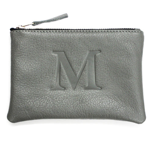 Signature Initial Pouch