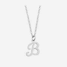 Script Custom Initial Necklace