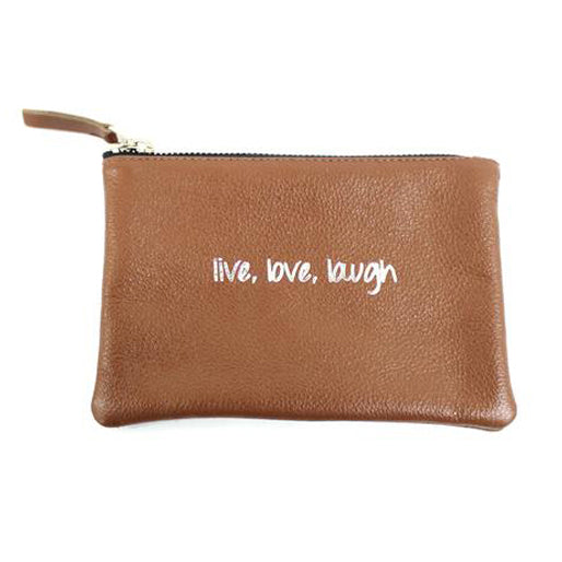 Live Love Laugh Pouch