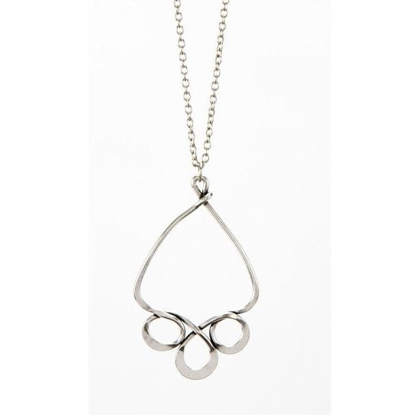 3 Circle Triangle Necklace