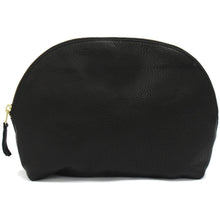 Medium Leather Cosmetic Bag Pouch