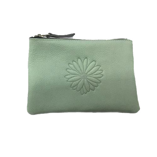 Embossed Sunflower Pouch