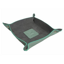 Two Tone Suede and Leather Catchall