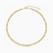 3 Row Satellite Chain Choker