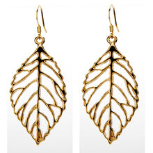 Open Leaf Earring