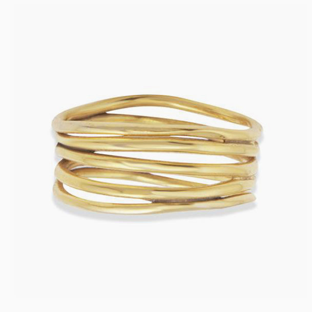 Abstract Line Ring