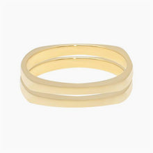 2 Square Stacking Rings