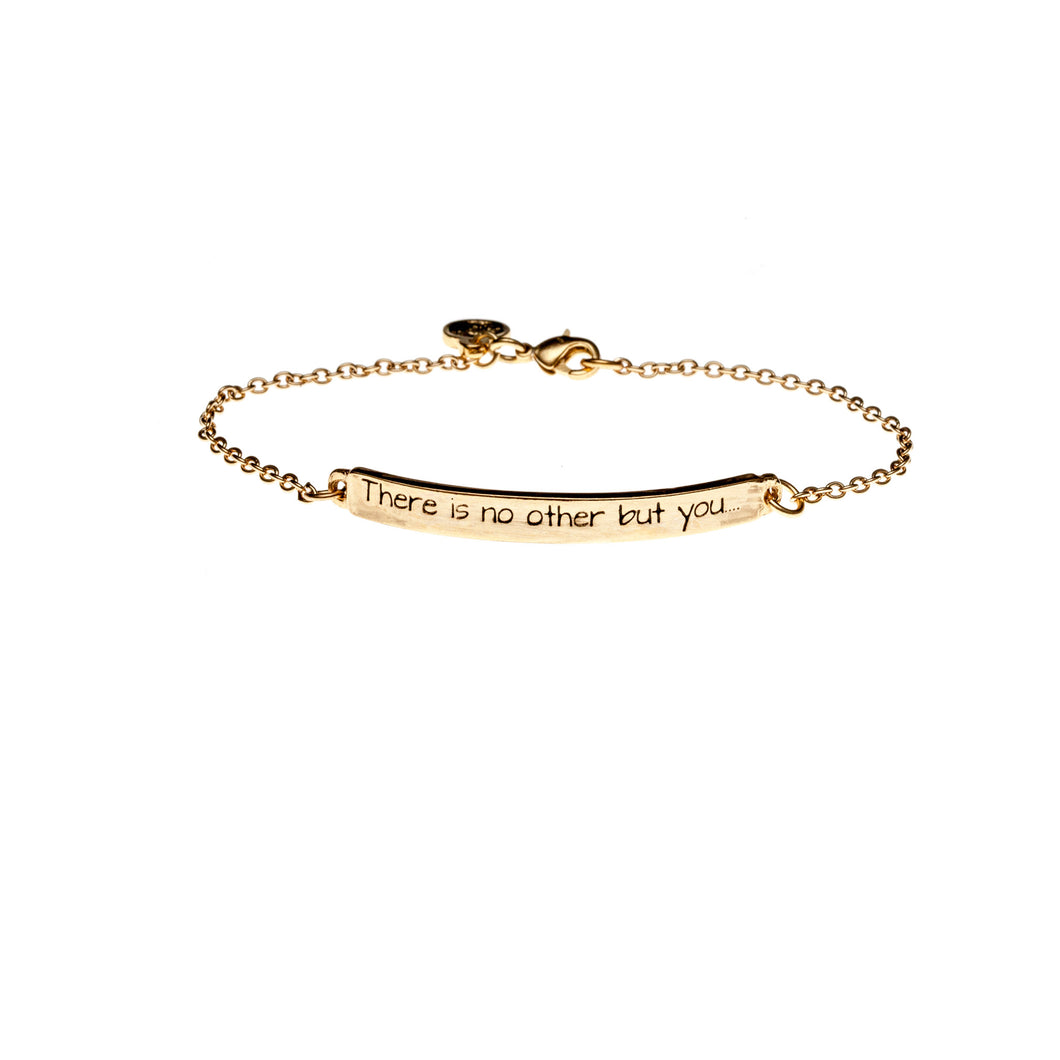 sterling rose or silver filled pin cuff inspirational gold bracelet mantra personalized