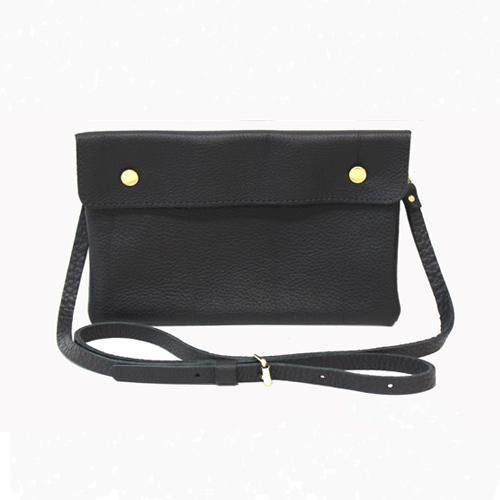 Double Snap Foldover Crossbody