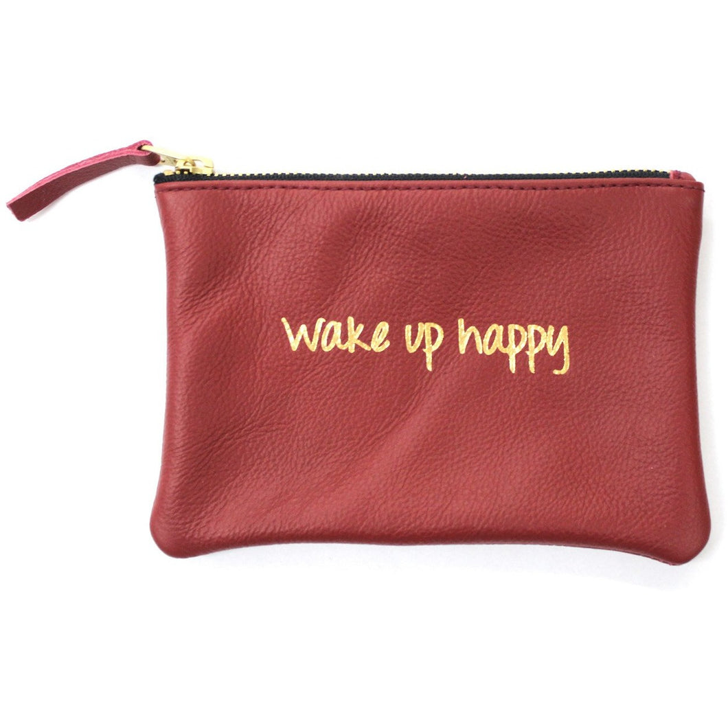 Wake Up Happy Pouch
