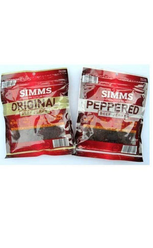 Simms Beef Jerky Bag - State Shops California