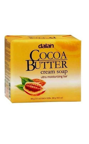 Dalan Cocoa Butter Cream Soap-3Bars - Wilson Inmate Package Program