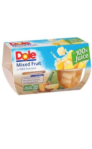 Dole Fruit Cups 4ct 16oz - Wilson Inmate Package Program