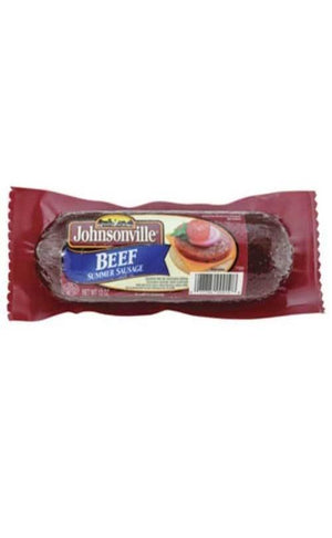 Johnsonville Beef Summer Sausage 12oz - Wilson Inmate Package Program