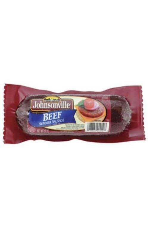 Johnsonville Beef Summer Sausage 12oz