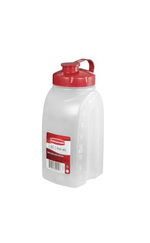 RUBBERMAID 1QUART SERVING BOTTLE - California Inmate Care Package